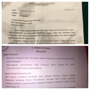 surat menkumham vs mahkamah